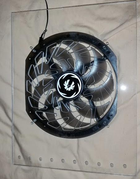 Fan fits great!
