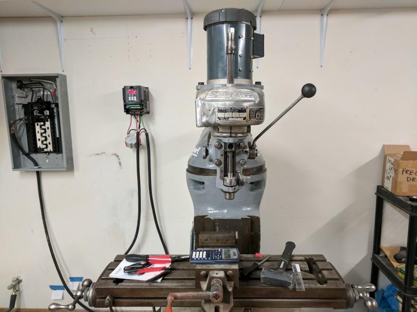 Strange Bridgeport M Head Milling Machine Pt 2 First Chips Vfd Wiring Wiring Cloud Oideiuggs Outletorg